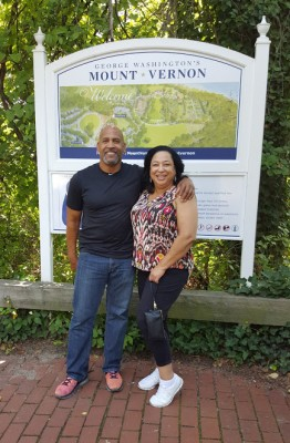 Cousins at Mount Vernon