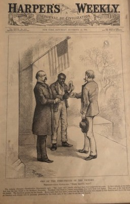 Cover, Harper's Weekly