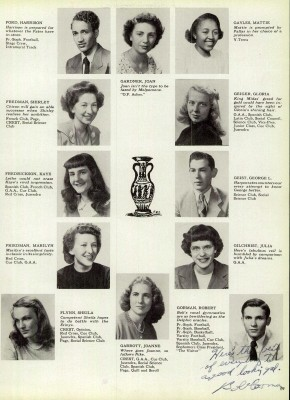 Harrison Ford, year book