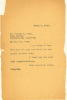 Letter from W.E.B. Du Bois to Major Ford