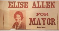 Elise Allen for Mayor