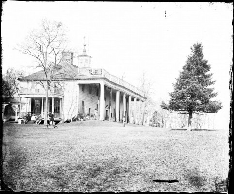 Mount Vernon Plantation in ruin
