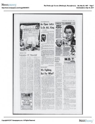 The Pittsburgh Courier Sat May 20 1967